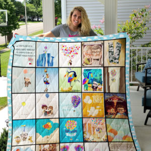 Up (2009 film) Quilt Blanket