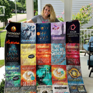 Veronica Roth Books Quilt Blanket