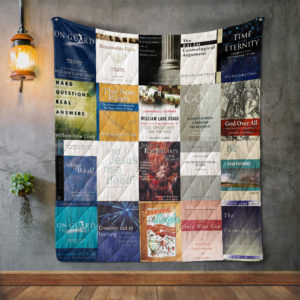 William Lane Craig Books Quilt Blanket