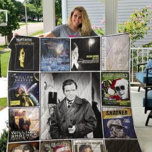 William Shatner Quilt Blanket