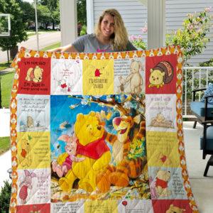 Winnie-the-Pooh Quilt Blanket